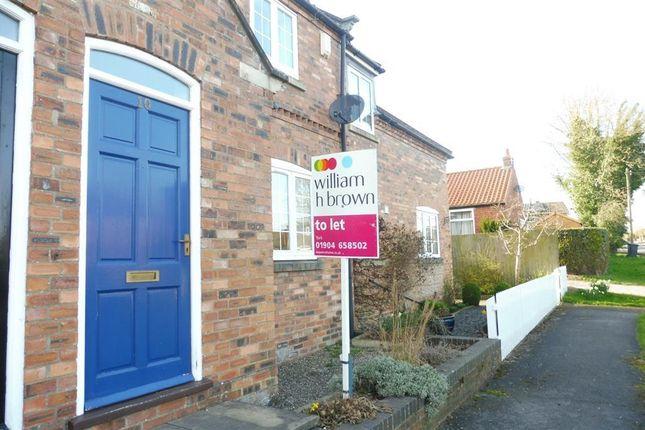 2 bedroom terraced house to rent in Garden Flats Lane, Dunnington, York