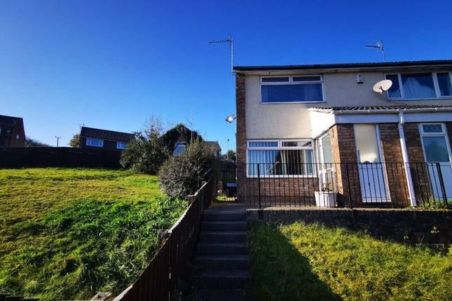 Thumbnail Property to rent in Brigham Court, Caerphilly