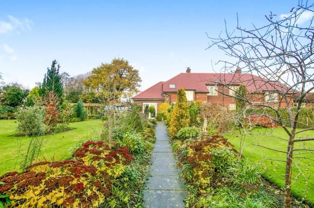 Thumbnail Semi-detached house for sale in Woodside, Siddington, Macclesfield, Cheshire