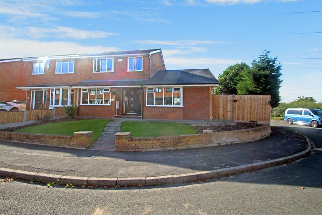 Semi-detached house for sale in Chessington Crescent, Trentham, Stoke-On-Trent