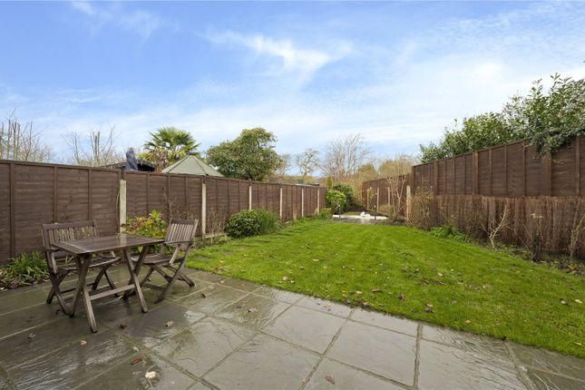 Rear Garden of The Roundway, Claygate, Esher, Surrey KT10