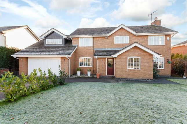 Thumbnail Detached house for sale in Prestwick Close, Macclesfield, Cheshire