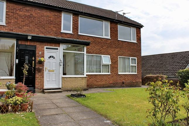 Thumbnail Maisonette to rent in Hawkstone Avenue, Whitefield, Manchester