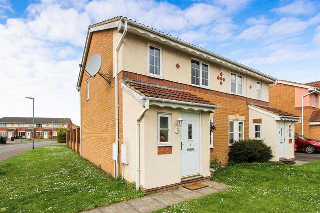 Semi-detached house for sale in Alder Drive, Huntingdon