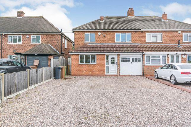 Thumbnail Semi-detached house for sale in Hobs Moat Road, Solihull