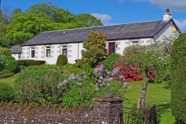 Thumbnail Detached bungalow for sale in Rosebank, School Road, Gartocharn