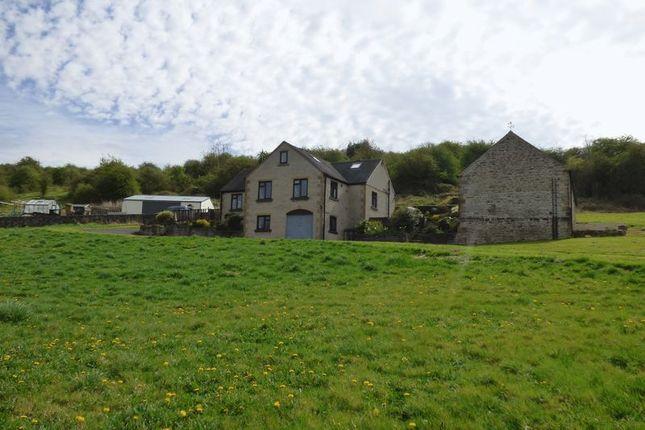 Thumbnail Farmhouse for sale in Main Road, Wensley, Matlock