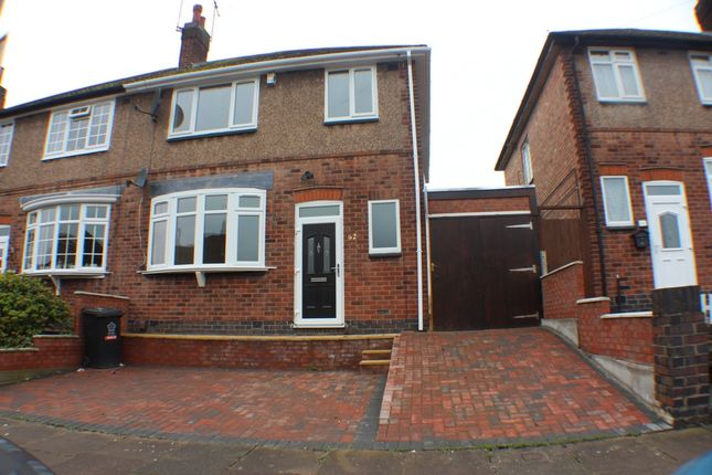 Thumbnail Semi-detached house for sale in Wiltshire Road, Leicester
