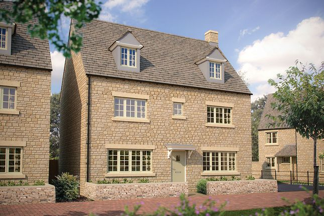 "Thumbnail Detached house for sale in ""The Stratford"" at Morecombe Way, Fairford"