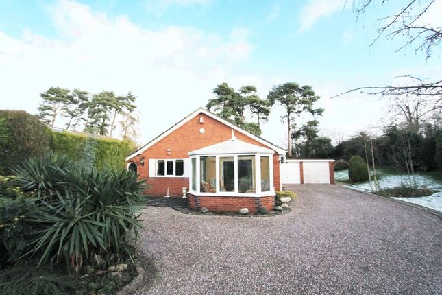 Thumbnail Detached bungalow for sale in Betton Road, Market Drayton