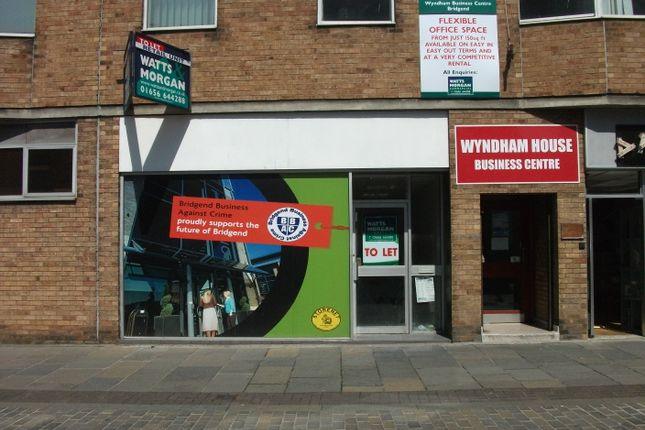 Thumbnail Retail premises to let in 1 Wyndham Street, Bridgend