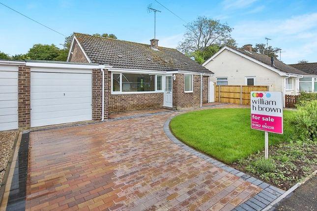 Thumbnail Bungalow for sale in Brookside, North Elmham, Dereham, Norfolk