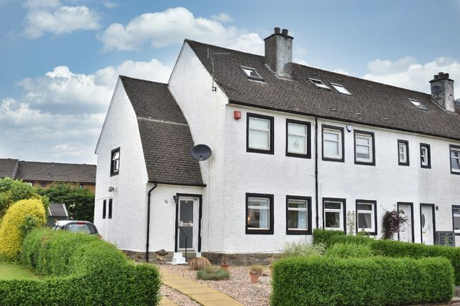 Thumbnail End terrace house for sale in Castle Road, Newton Mearns, Glasgow
