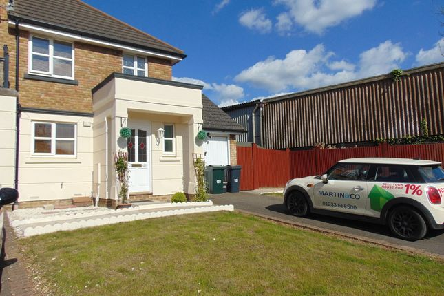 Thumbnail End terrace house to rent in Mill Court, Ashford Business Park, Sevington, Ashford