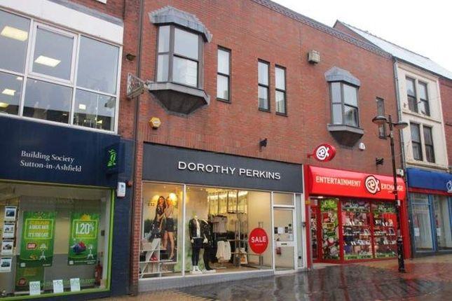 Thumbnail Retail premises to let in Unit 1, 22-26 Low Street, Low Street, Sutton In Ashfield