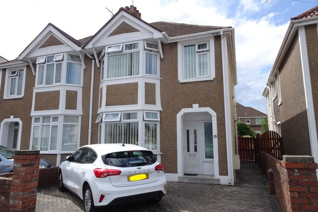 3 bed semi-detached house for sale in Neville Road, Porthcawl CF36