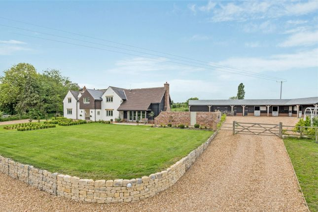 Thumbnail Detached house for sale in West End, Stagsden, Bedfordshire