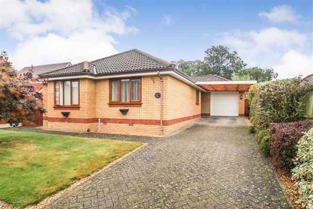 Thumbnail Detached bungalow for sale in Plas Ffynnon Way, Oswestry