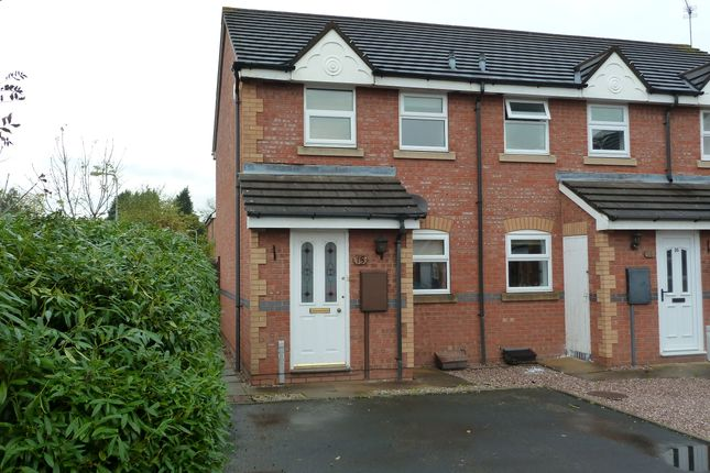 Thumbnail Semi-detached house to rent in Celandine, Kettlebrook, Tamworth.