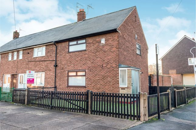 Thumbnail End terrace house for sale in Stoke Street, Hull