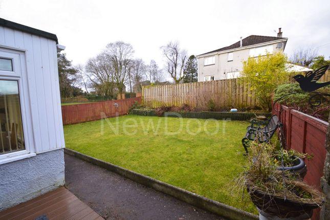 Rear Garden of Lewis Gardens, Bearsden G61