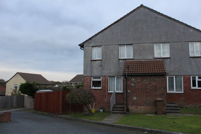 Thumbnail End terrace house to rent in Holloway Gardens, Plymstock, Plymouth