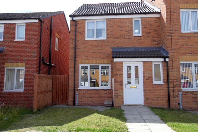 Thumbnail Terraced house for sale in Hutchinson Close, Coundon, Bishop Auckland