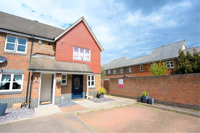 2 bed end terrace house for sale in Southwell Close, Chafford Hundred, Grays RM16