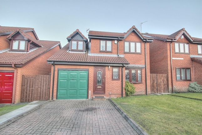 Thumbnail Detached house for sale in Hampton Drive, Gateshead