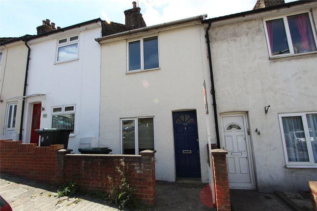 Thumbnail 2 bed terraced house to rent in Hamerton Road, Northfleet, Gravesend, Kent