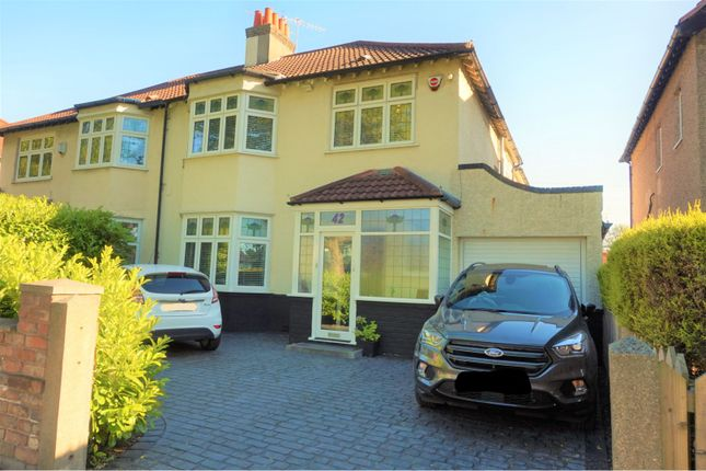 Thumbnail Semi-detached house for sale in Menlove Avenue, Liverpool