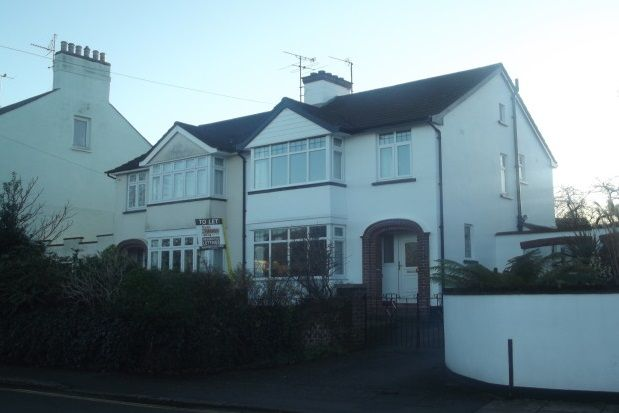 Thumbnail Property to rent in Homefield Road, Heavitree, Exeter