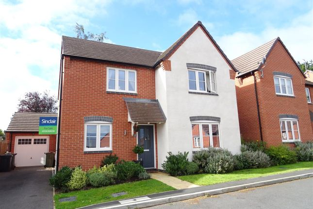 Thumbnail Detached house for sale in Rennocks Place, Thringstone, Leicestershire