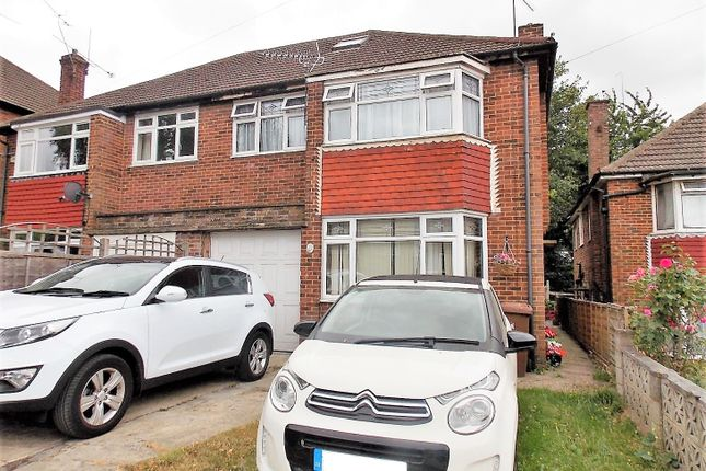 Thumbnail Semi-detached house for sale in Kennard Close, Rochester