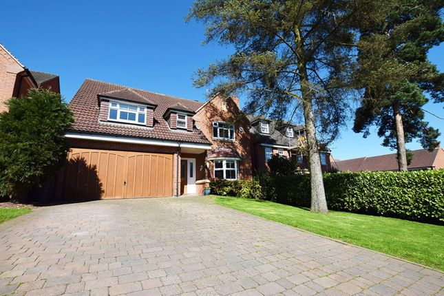 Thumbnail Detached house for sale in St. Georges Close, Allestree, Derby
