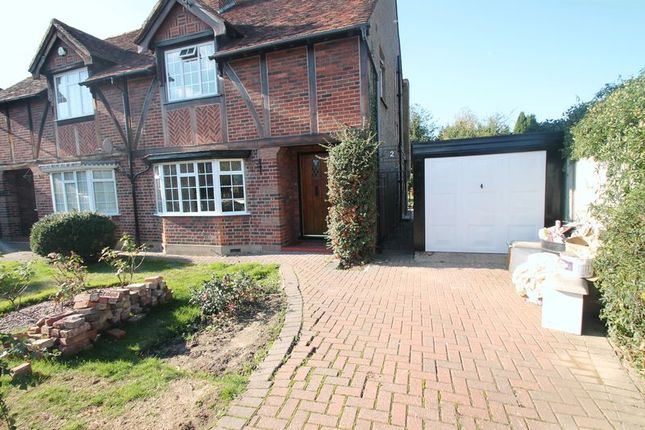 Thumbnail Semi-detached house to rent in Field Way, Uxbridge