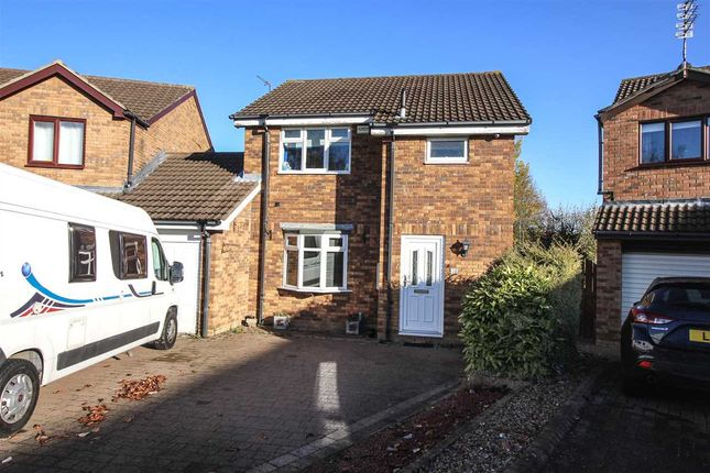 Thumbnail Detached house to rent in Ilford Avenue, Northburn Glade, Cramlington