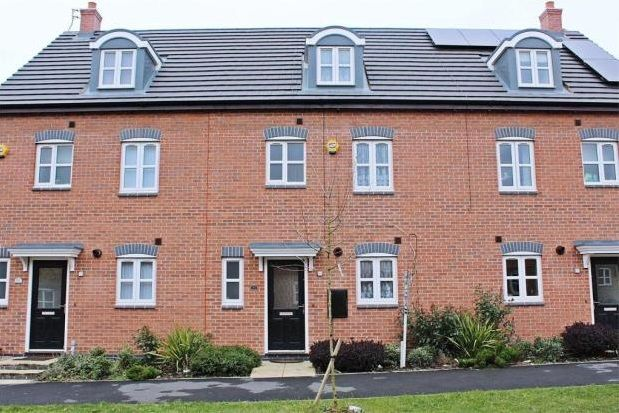 Thumbnail Terraced house to rent in Anglian Way, Stoke