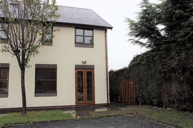Thumbnail Terraced house to rent in 27, Tan Y Castell, Castle Caereinion, Welshpool, Powys