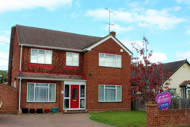 Thumbnail Detached house for sale in Wood Street, Ash Vale