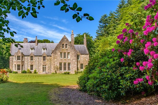 Thumbnail Detached house for sale in Crowmallie House, Pitcaple, Inverurie, Aberdeenshire