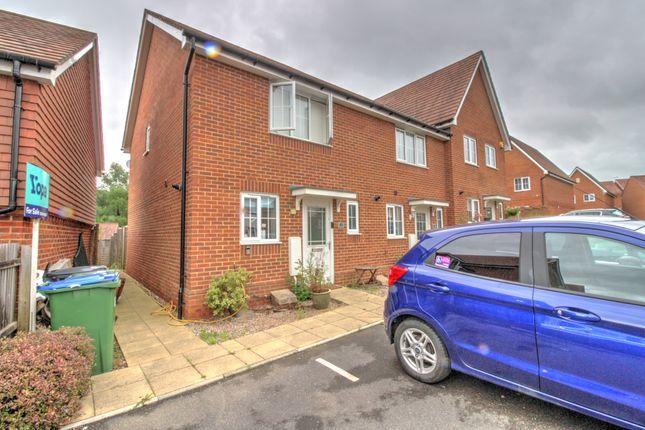 Thumbnail Terraced house for sale in Roman Lane, Southwater, Horsham