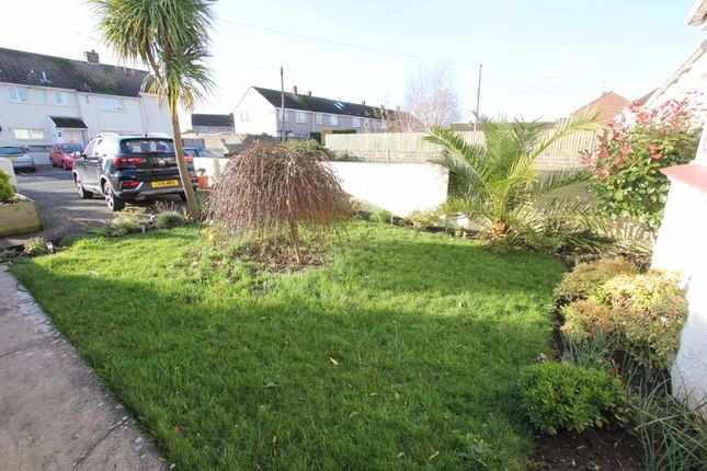 Front Garden of Pantycelyn Place, St. Athan, Barry CF62
