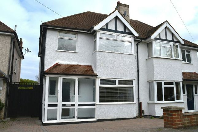 Thumbnail Semi-detached house to rent in Shawford Road, West Ewell, Epsom