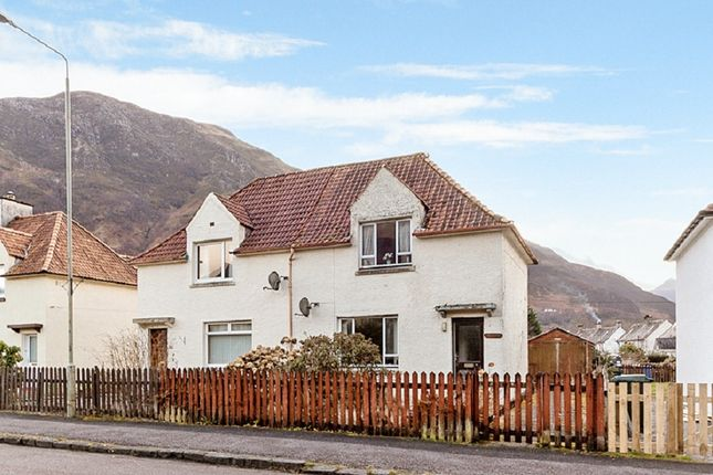 Thumbnail Semi-detached house for sale in Lochaber Road, Kinlochleven, Lochaber, Argyll-Shire
