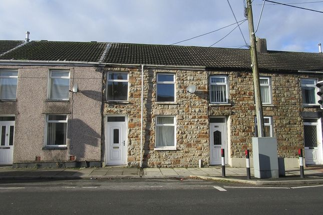 Thumbnail Terraced house to rent in Bridgend Road, Maesteg, Bridgend.