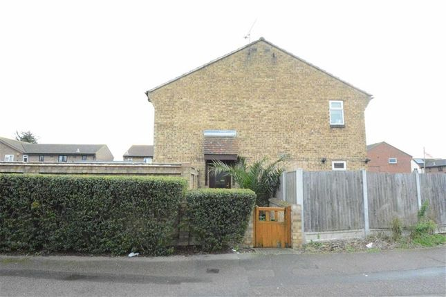 Thumbnail End terrace house to rent in Thackeray Avenue, Tilbury, Essex