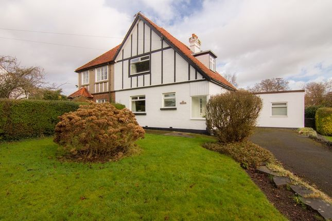 Thumbnail Semi-detached house for sale in Avenue Road, Abergavenny
