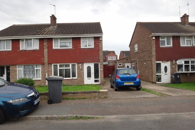 Thumbnail Semi-detached house to rent in Thomson Close, Leicester