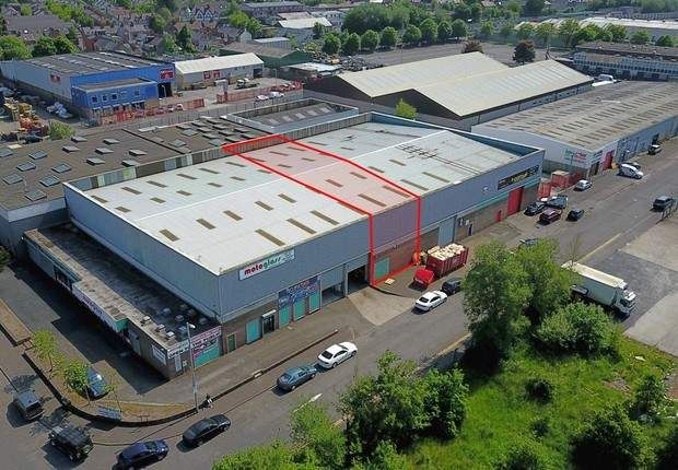 Thumbnail Warehouse to let in Balmoral Link, Boucher Road, Belfast, County Antrim